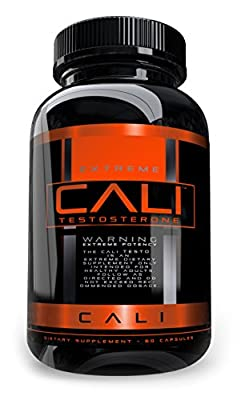 Cali Testosterone Booster for Men, Boost T Levels Naturally, Natural Energy Supplement, Brain Support, Libido, Muscle Building, Natural Stamina, Endurance and Strength Booster, All natural male pills
