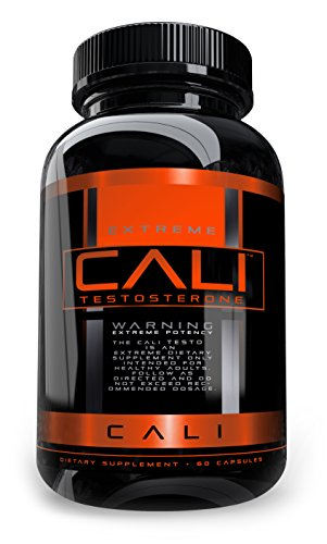 Cali Testosterone Booster for Men, Boost T Levels Naturally, Natural Energy Supplement, Brain Support, Libido, Muscle Building, Natural Stamina, Endurance and Strength Booster, All natural male pills (Muscle Supplement Stacks Building)