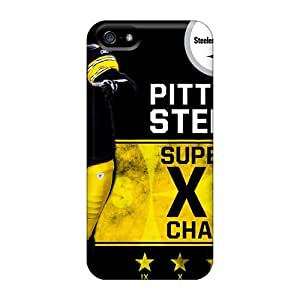 Awesome Pittsburgh Steelers Flip Cases With Fashion Design For Iphone 5/5s by icecream design
