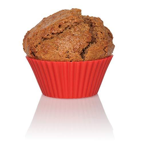 Mrs. Anderson's Baking 43736 Muffin Cups, Non-Stick European-Grade Silicone, Standard Size, Set of 12