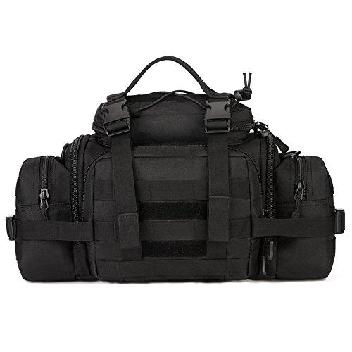 Waterproof 600D Oxford Waist Bag Tactical Molle EDC Outdoor Bag - 2