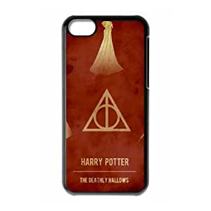 Deathly Hallows iPhone 5c Cell Phone Case Black persent xxy002_6048460