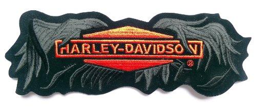 Harley davidson motorcycles genuine patches | ladies, biker.
