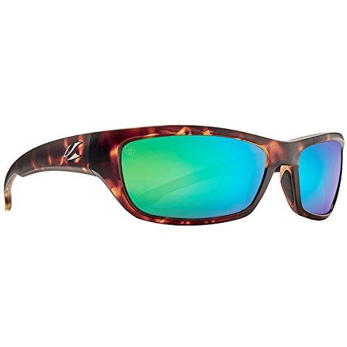 Kaenon Adult Cowell Sunglasses, Matte Tortoise / Coastal Green, One - Sunglasses Kaenon