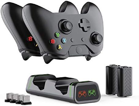 ElecGear Estación de Carga Xbox One con 2X