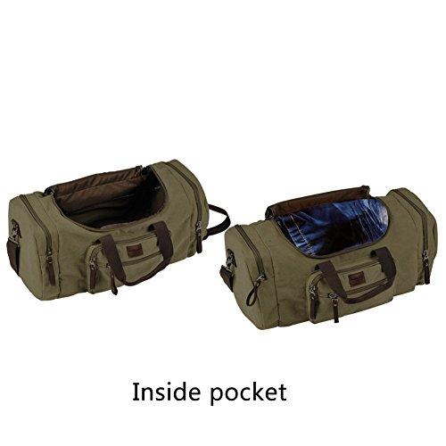 199eb1e13e1121 Dream Hunter Canvas/Weekender/Travel/Duffel Bag for Men's, - Import It All