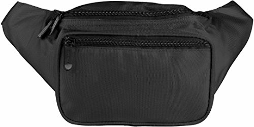 SoJourner Black Fanny Pack - Packs for men, women | Cute Festival Waist Bag Fashion Belt Bags