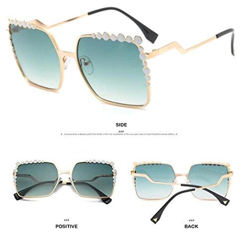 De De Viaje Sol Visera Moda Gafas Mujer Playa C Ritmo Moda Hombres Espejo para De C Calle Gafas Retrovisor Exteriores Gafas Sol Personalidad 6qE7S8x