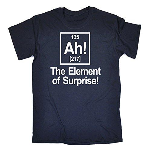 123t Men's – AH ELEMENT OF SURPRISE – Loose Fit T-shirt