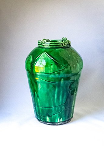 Porcelain Vase Forest Green (Cathy Vase)