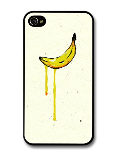 Banana Pop Art Inspired Original Art Illustration coque pour iPhone 4 4S
