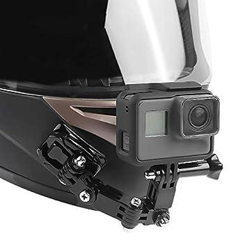 BEESCLOVER - Soporte de Barbilla para Casco de Moto GoPro Hero6/5 ...