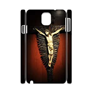 samsung galaxy note 3 Case for God Jesus Christ Shell Phone Case JFLIFE(TM) [Pattern-4]