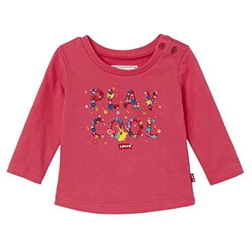 shirt Cool Levi's Tee Ls bright 33 Rose T Bimba Rosa WWqB1R46