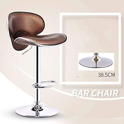 6 JZX Seat, Bar Chair, Liftable and redatable Reception Bar Stool, European Sponge Cushion Bar Stool, Cash Register Chair