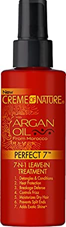 Creme Of Nature Argan Oil Perfect 7 In 1 Leave In Treatment, 4.23 Ounce by Creme Of Nature