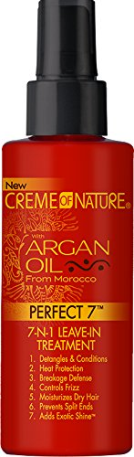 Creme of Nature Argan Oil Perfect 7-in-1 Leave-in Treatment, 4.23 Ounce (Daily Leave In Conditioner For Natural Hair)
