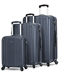 Milano Luggage 3 Piece Expandable Lightweight Spinner Set