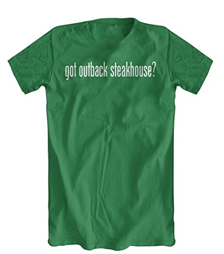got-outback-steakhouse-t-shirt-mens-kelly-green-small