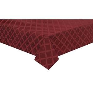 Amazon Com Lenox Laurel Leaf 70x144 Quot Wide Tablecloth