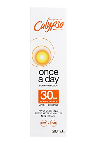 Calypso Once A Day Sun Protection Lotion With Spf 30 (Best Once A Day Sunscreen)