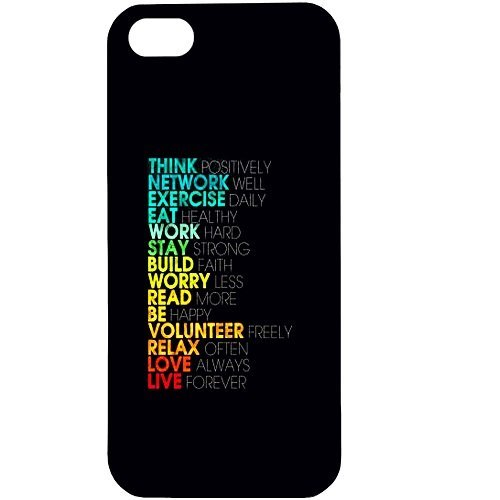 casotec motivational quote design hard Back Cover case for apple iphone 5 / 5s