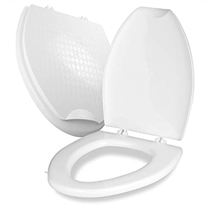 Sensational Ecoroom One Touch Easy Installation Universal Toilet Seat Inzonedesignstudio Interior Chair Design Inzonedesignstudiocom