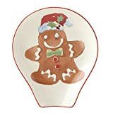 Lenox Home for the Holidays Gingerbread Spoon Rest, Multicolor