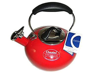 Chantal Eclipse Enamel on Steel Teakettle - 1.8 quart