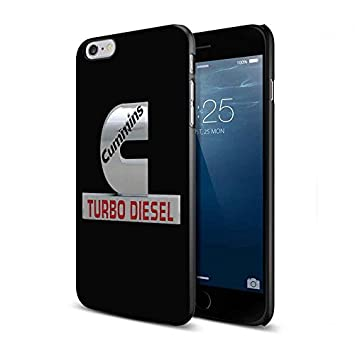 log0o cummins turbo diesel For iPhone 6 Plus/6s Plus Black Case