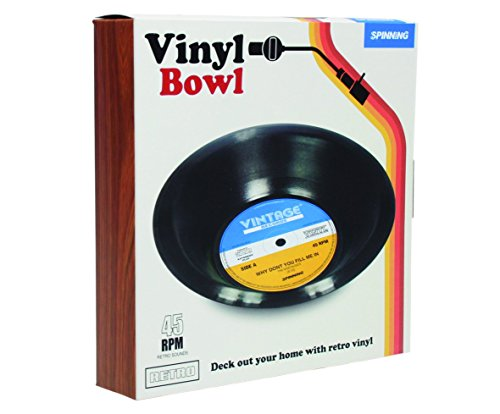 (Spinning Hat Retro Vinyl Bowl)