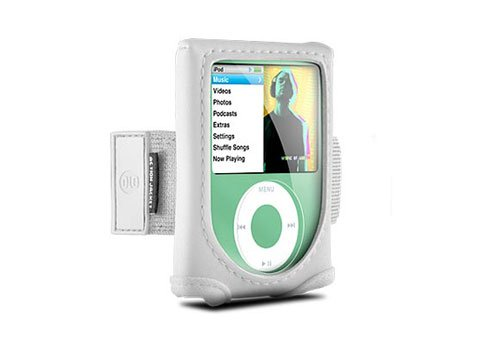 DLO Action Jacket for iPod nano 3G (White)