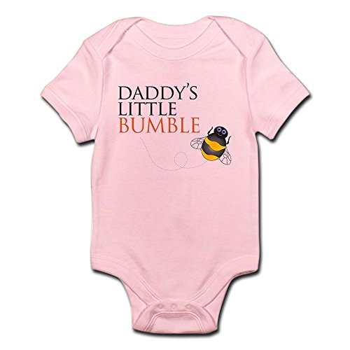 CafePress - Daddy's Bumble Bee - Cute Infant Bodysuit Baby Romper (Bumblebee Suit)