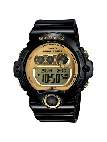 Casio BG6901 1 Gold Tone Accented Digital