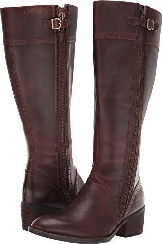 Born Women's Poly Wide Calf Brown 8.5 M ()