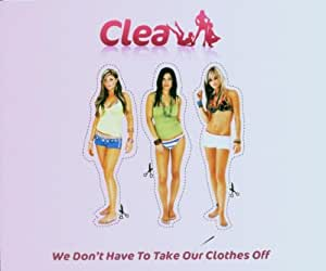 We don't have to take our clothes off [Single-CD]