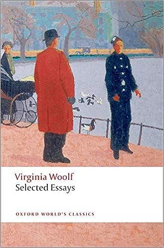 Selected essays by virginia woolf looking backward essay