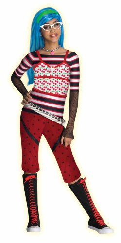 Monster High Ghoulia Yelps Costume - Large - Ghoulia Yelps Halloween Costumes