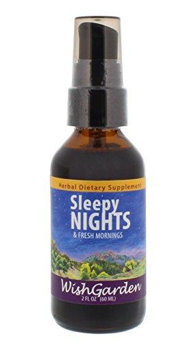 Healthy Sleep Support - WishGarden Herbs - Sleepy Nights, Organic Herbal Sleep Aid, Supports Healthy Sleep Cycles, Wake Up Fresh in the Morning (2 oz)