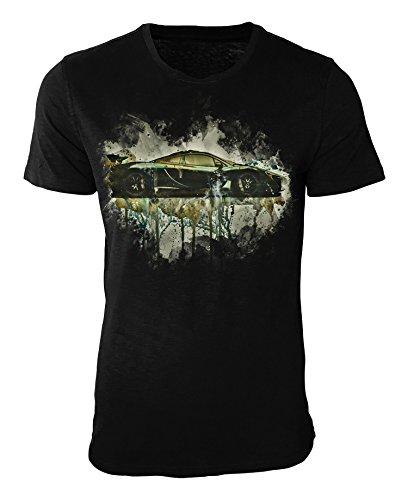 2014 Mclaren P1 T-Shirt stilvolles Designershirt von Paul Sinus