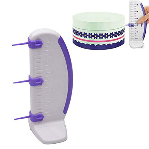 Gotian Cake Cutting Molds Plastic Decorating Ruler Border Baking Tools Cake Marker Leveler