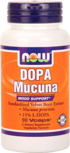 NOW Foods Dopa Soutien Mood Mucuna 15% de L-Dopa, 400 mg, 90 Vcaps