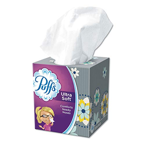 - Puffs 35038 Ultra Soft Facial Tissue, 56 Sheets per Box (Case of 24)