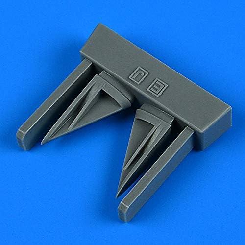 クイックブースト 1/32 F-4E/EJ/F/J/Sファントム2 垂直尾翼空気取入口 2個入り (タミヤ用) プラモデル用パー