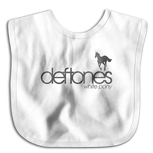 (Deftones White Pony Unisex Newborn Bib)