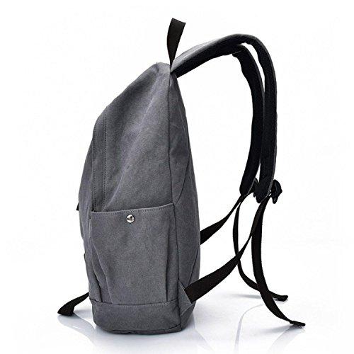 Man Svago Grigio Retrò Di Corsa Bag Canvas Calcolatore Ox0qw4vEpp