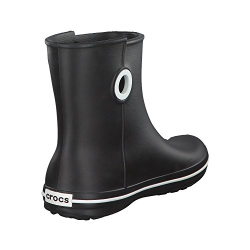 W 001 black Jaunt Crocs Donna Stivali Shorty Boot Schwarz qxZat8