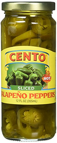 (Cento Hot Jalapeno Peppers Sliced, 12 Ounce)