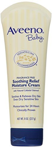 (AVEENO Baby Soothing Relief Moisture Cream 8 oz (Pack of 2))