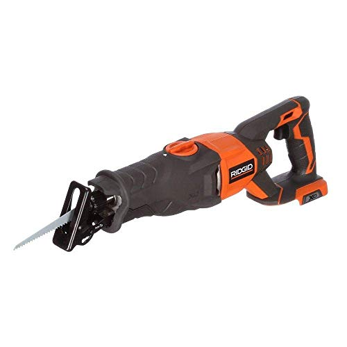 Ridgid R8641 18 Volt Cordless Reciprocating Saw with Orbital Action (Battery Not Included, Power Tool Only)(Bulk Packaged)